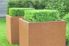 cortenstaal plantenbakken  50x50x50 cm (groot)