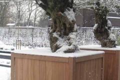 foto 2, hardhouten plantenbakken, model Nice (groot)