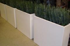 polyester of aluminium plantenbakken in elke ral kleur naar keuze, maat 90x25x80 cm (aluminium ook op maat) 1 (gr)