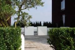 witte polyester of aluminium plantenbakken (groot)